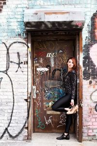 Suzanne Clandon New York Shoot