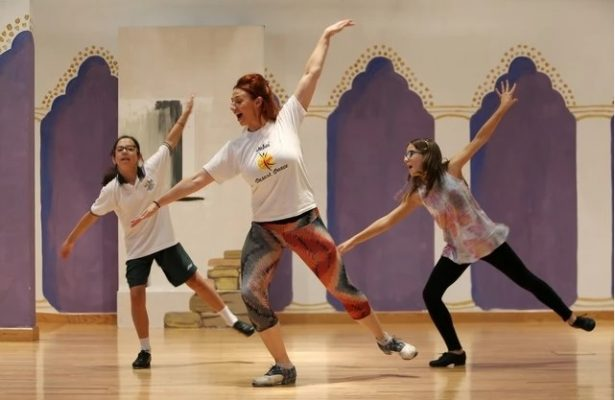 Dancing Ambassador sets off to spread word of the UAE